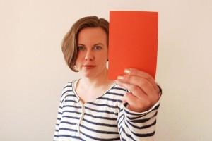 Rote Karte 1 klein