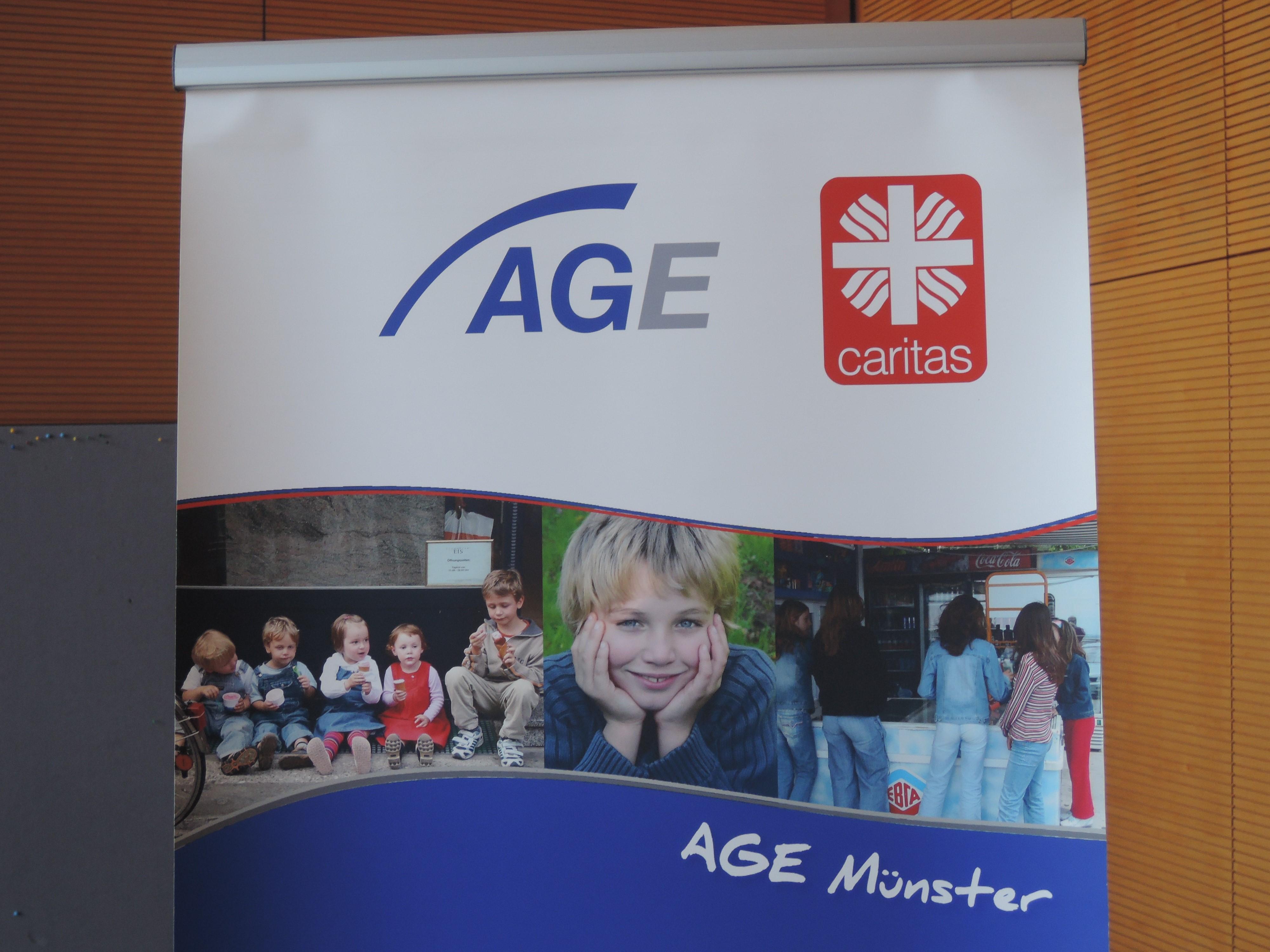 """""""gerne anders!"""" bei der AGE – Caritasverband für die Diözese Münster"""