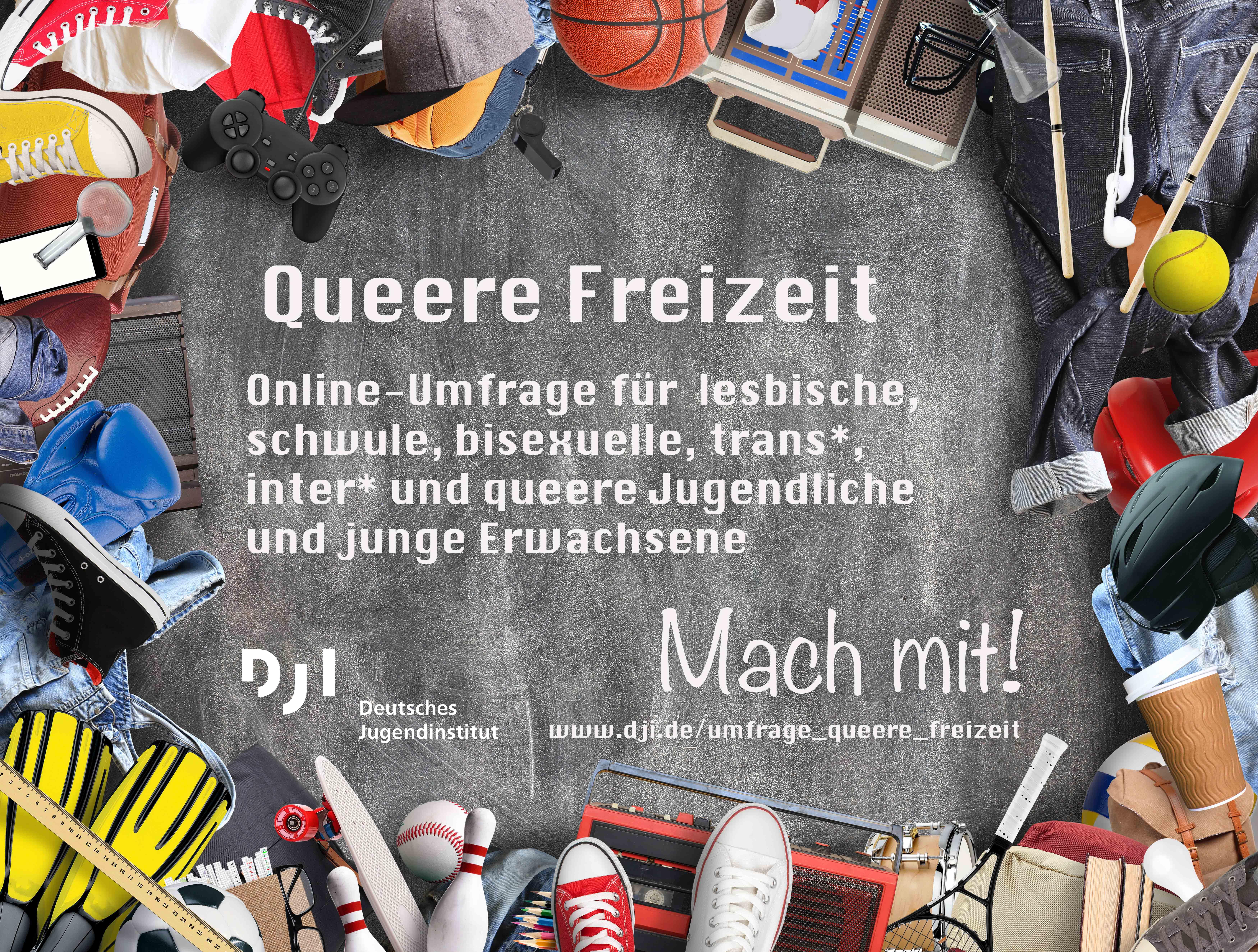 Queere Freizeit – Umfrage des DJI